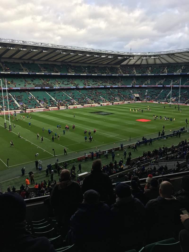 Seating view for Twickenham Stadium Section M12 Row 60 Seat 334