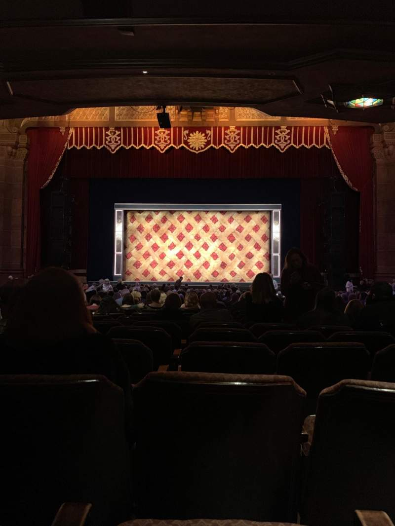 Seating view for Fox Theatre (Atlanta) Section Orchestra C Row AA Seat 105