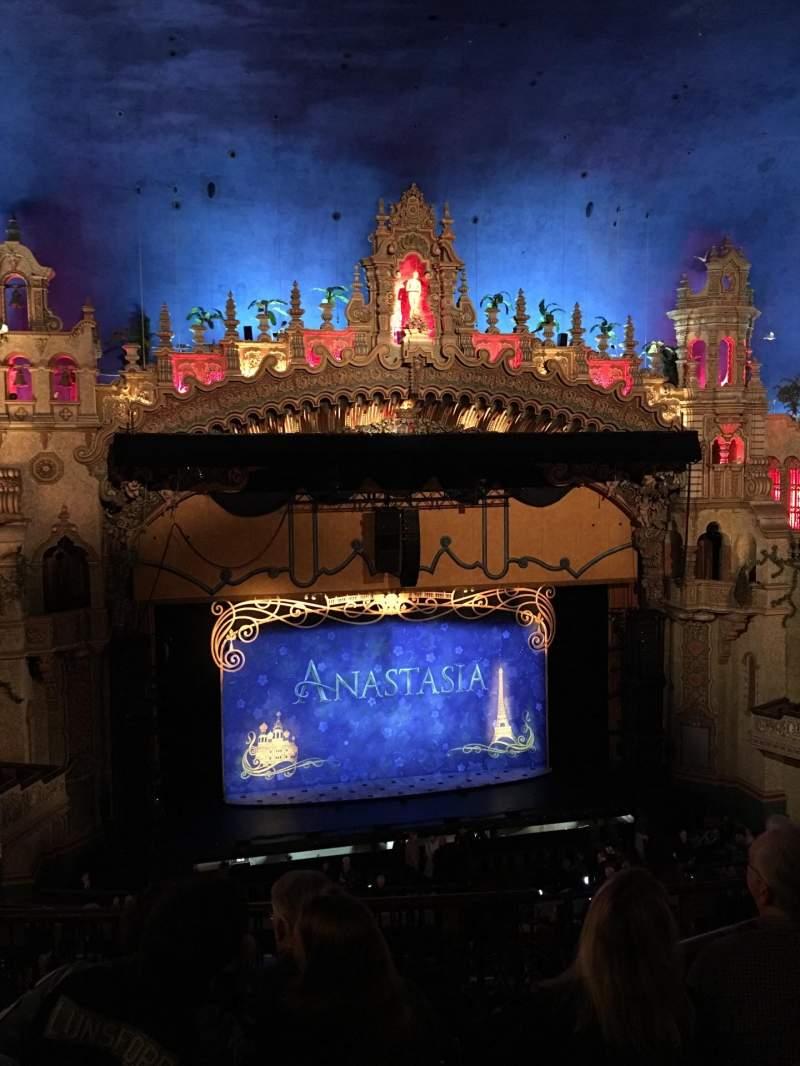 Seating view for Majestic Theatre - San Antonio Section Mezzanine LC Row FF Seat 4