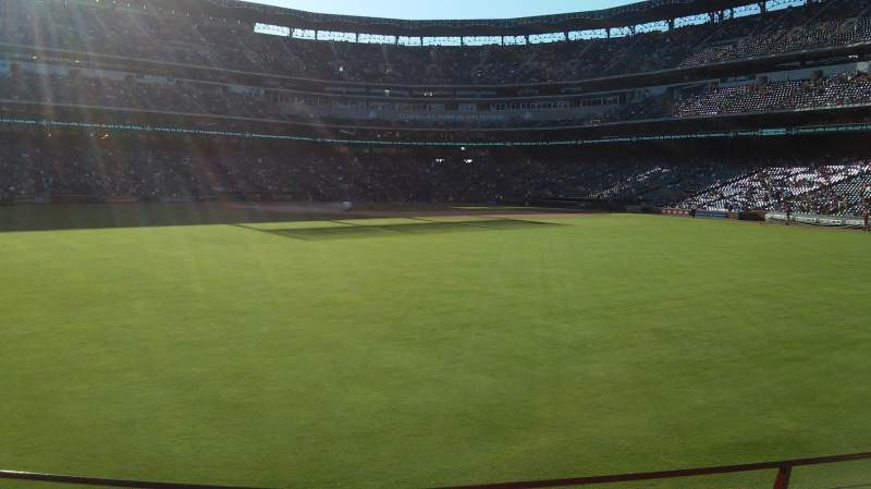 Seating view for Globe Life Park in Arlington Section 52 Row 3 Seat 3