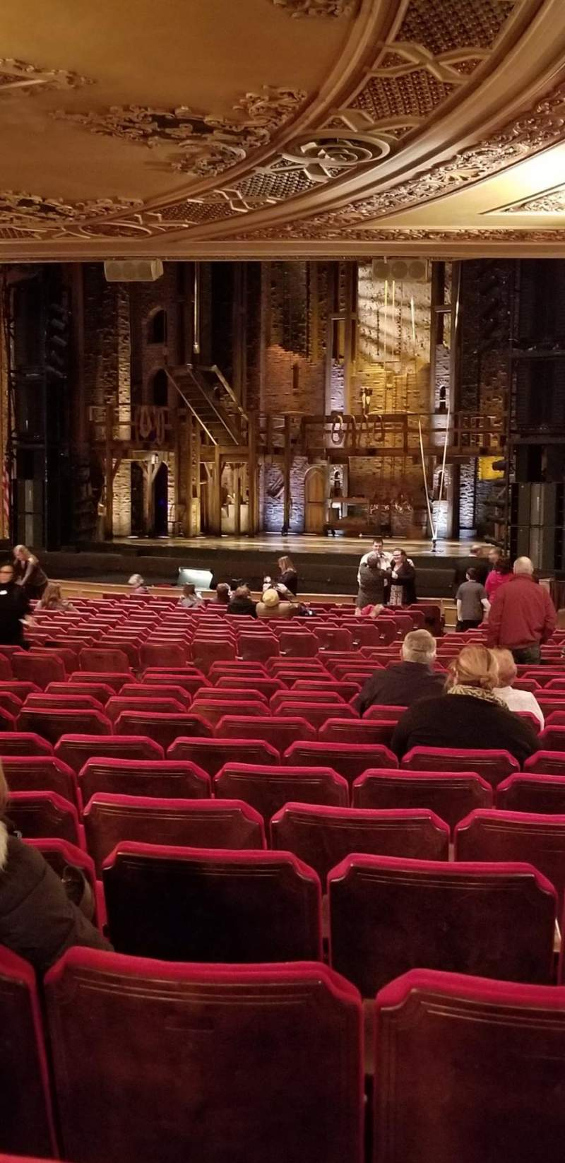 Seating view for Ohio Theatre (Columbus) Section Orchestra 1 Row Z Seat 26