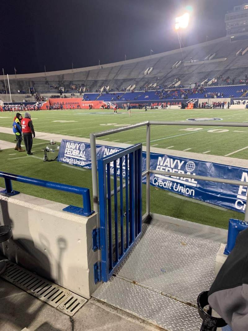Seating view for Liberty Bowl Memorial Stadium Section 117 Row 4 Seat 10