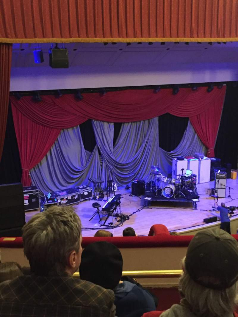 Seating view for The Town Hall Section Lower Balcony Row D Seat 23