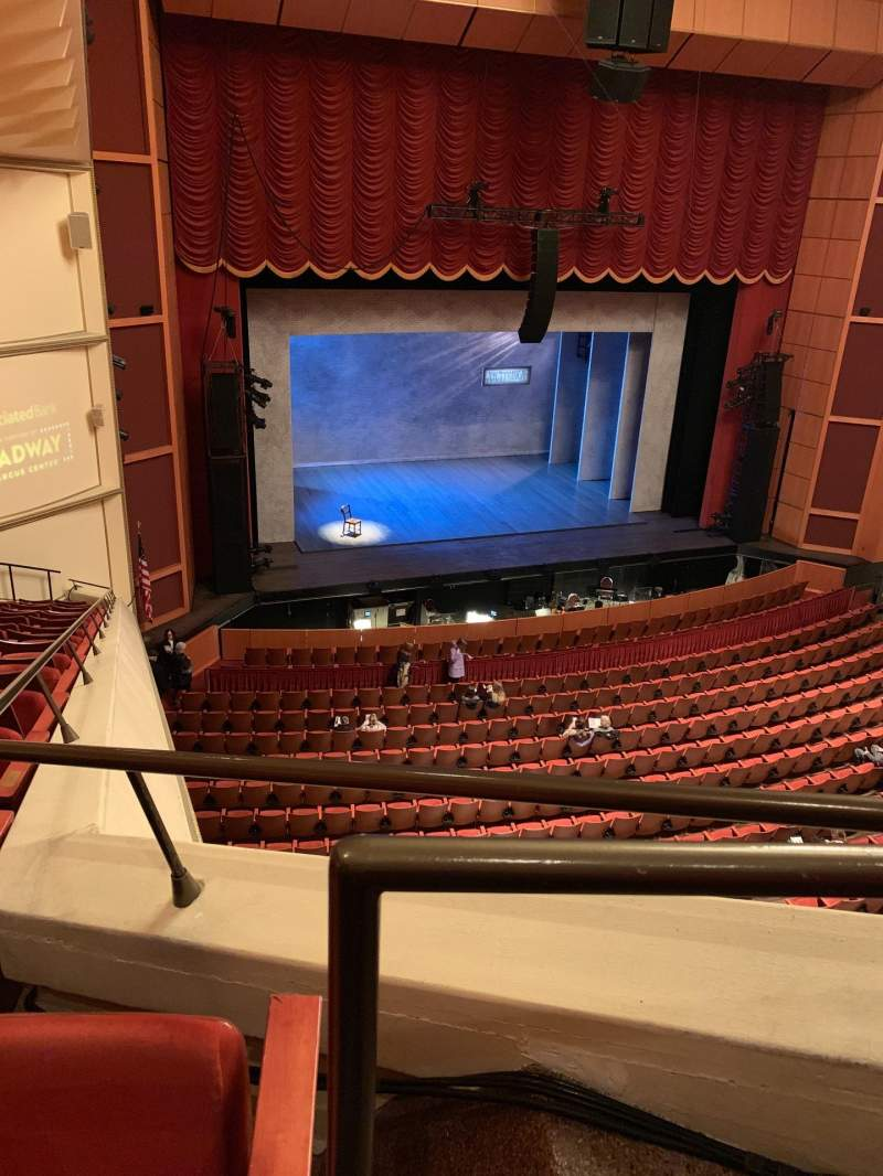 Seating view for Uihlein Hall Section Sloge Row S Seat 4