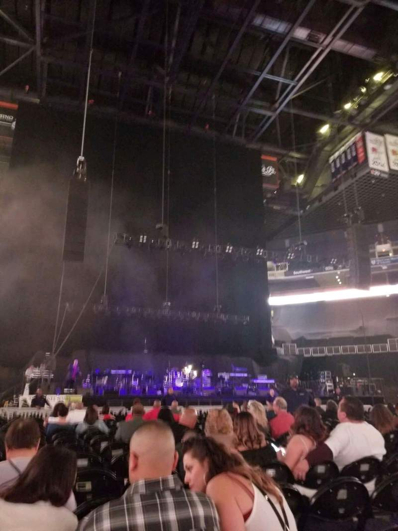 Seating view for Talking Stick Resort Arena Section Floor C Row 19 Seat 8