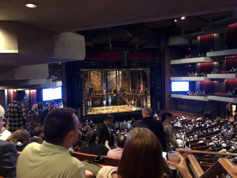 Seating view for Carol Morsani Hall at the Straz Section Mezzanine 2 Row FF Seat 1
