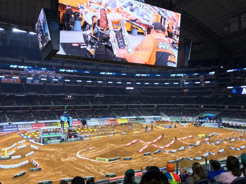 Seating view for AT&T Stadium Section C213 Row 7 Seat 8