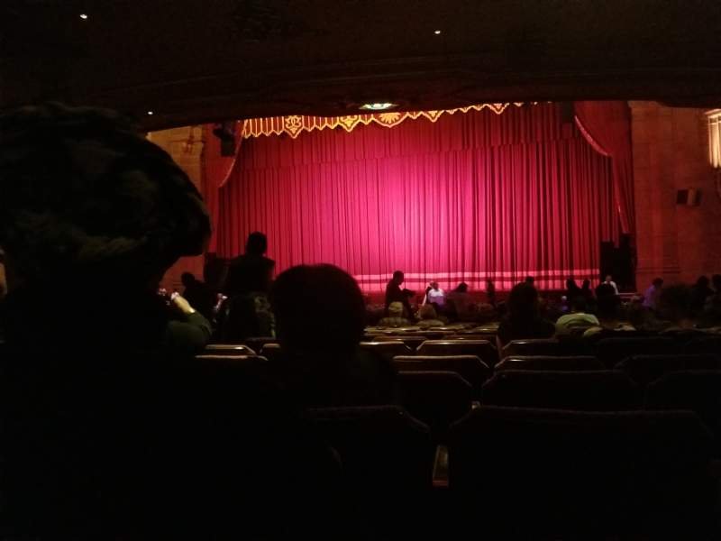 Seating view for Fox Theatre (Atlanta) Section Orchestra RC Row EE Seat 60