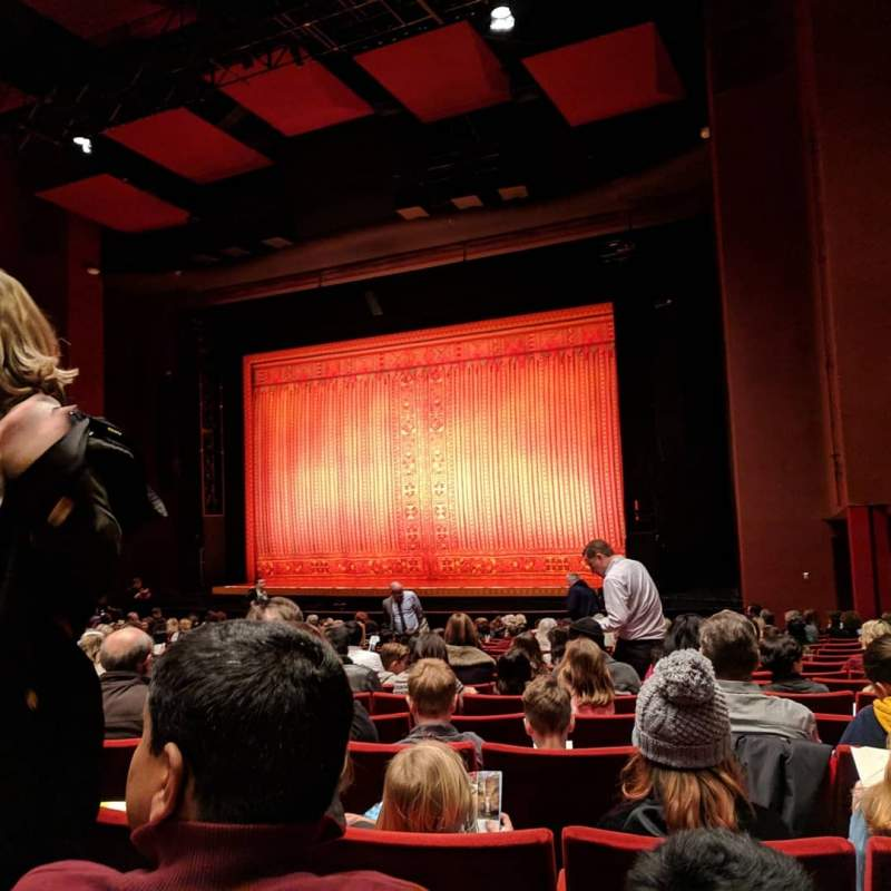 Seating view for San Diego Civic Theatre Section Orchestra 2 Row R Seat 50