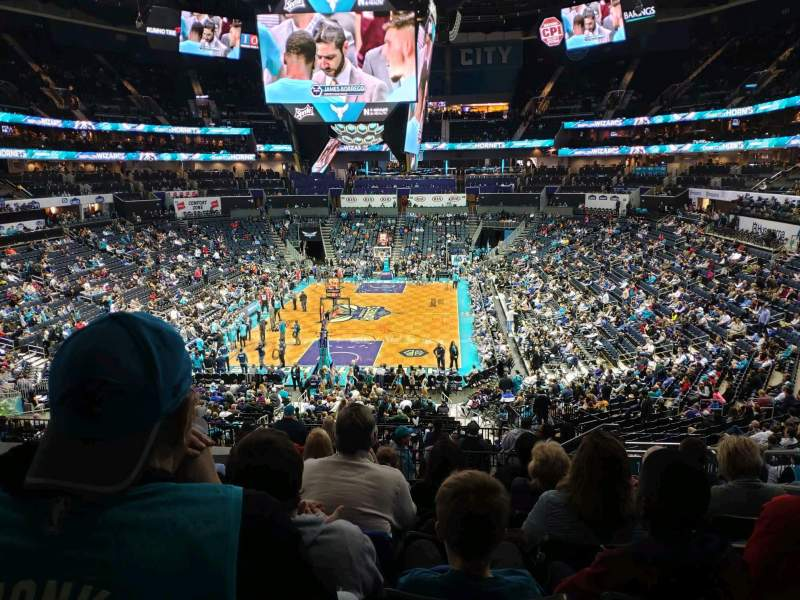 Seating view for Spectrum Center Section 117 Row DD Seat 5
