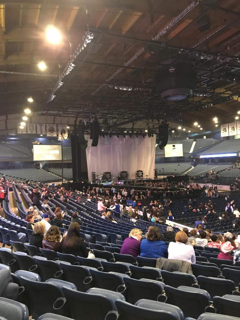 Seating view for Allstate Arena Section 116 Row R Seat 20