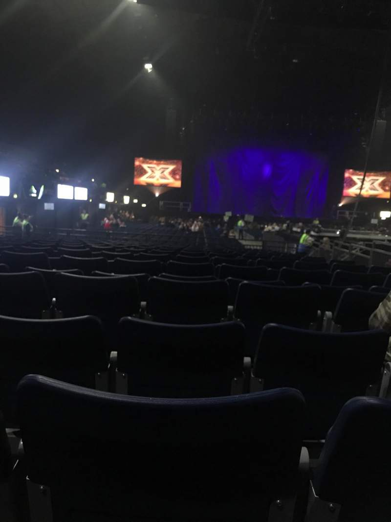 Seating view for SSE Arena, Wembley Section D4 Row 5 Seat 47