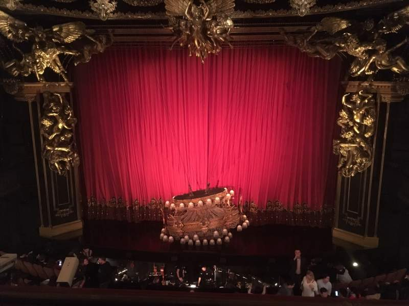 Seating view for Majestic Theatre Section Front Mezzanine C Row B Seat 110