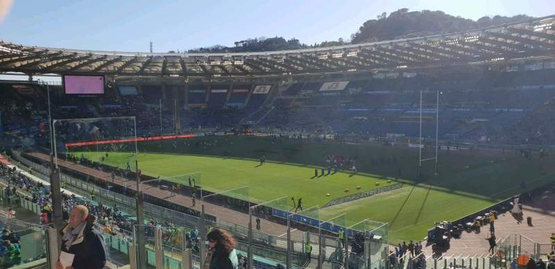 Seating view for Stadio Olimpico Section 43 Row 48 Seat 7s