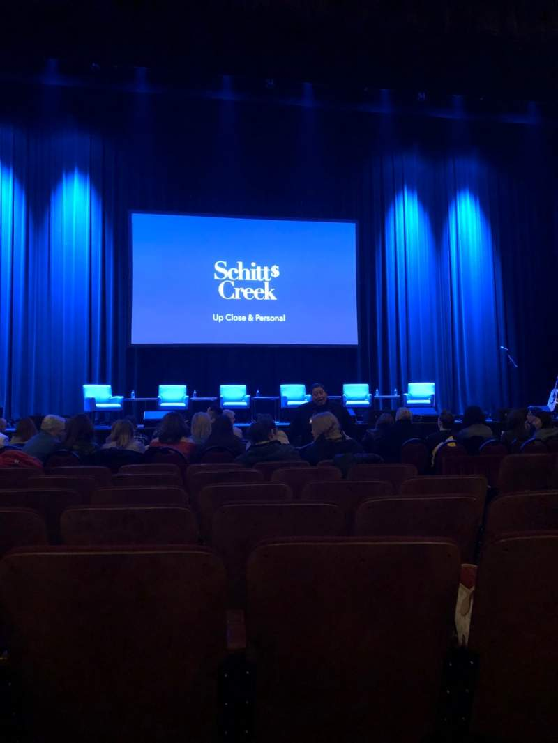 Seating view for Chicago Theatre Section MNFL4L Row Gg Seat 407