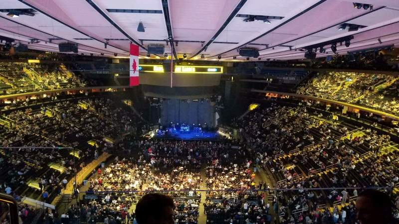 Seating view for Madison Square Garden Section 306 Row 2 Seat 2