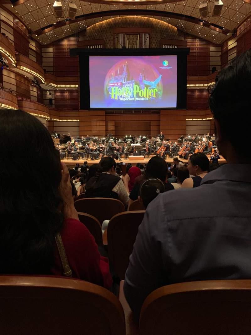 Seating view for Dewan Filharmonik Petronas Section Stalls Row S Seat 16