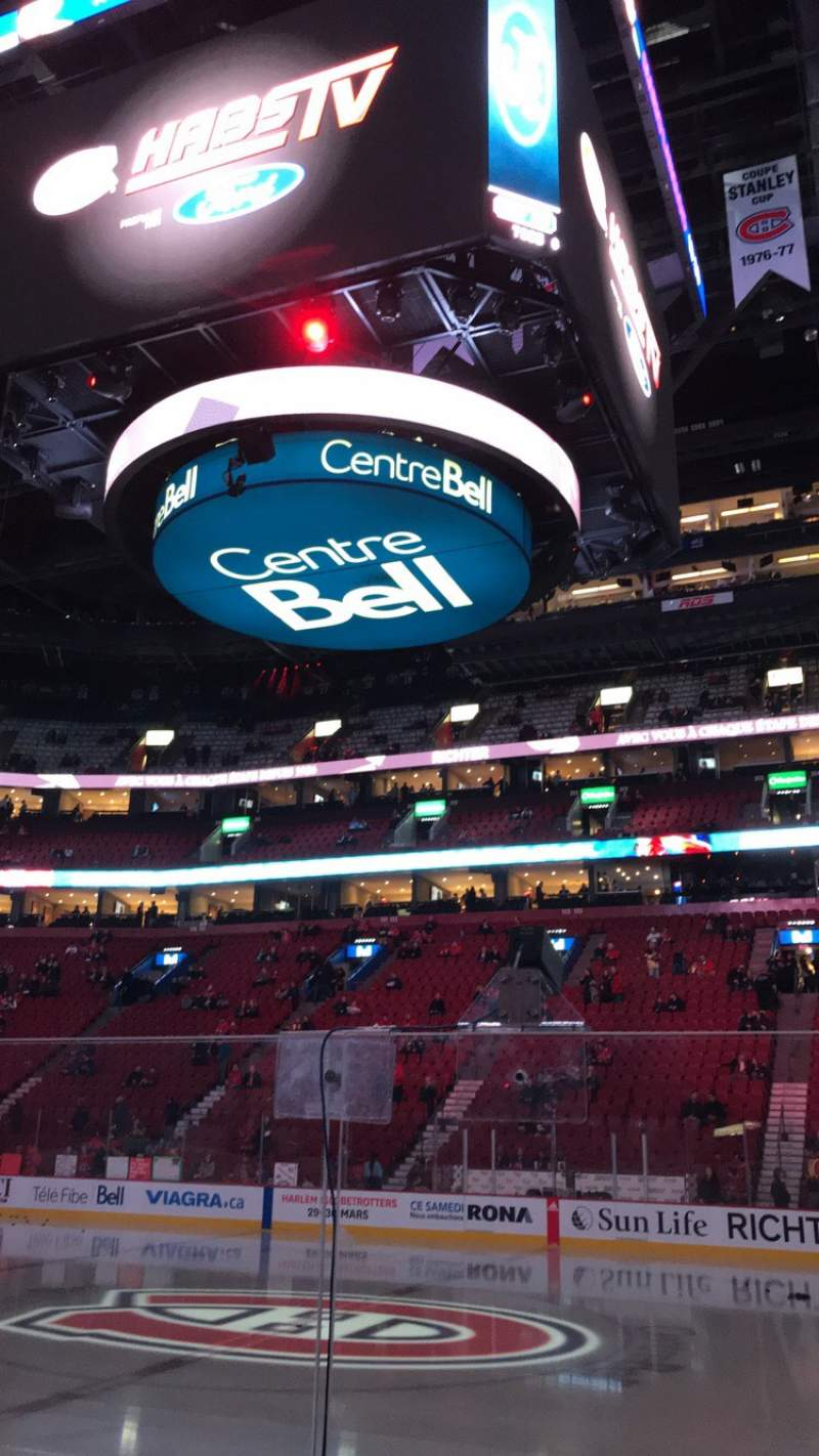 Seating view for Centre Bell Section 124 Row EE Seat 9