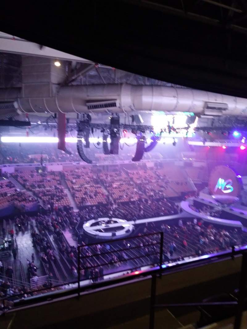 Seating view for DCU Center Section 335 Row D Seat 6