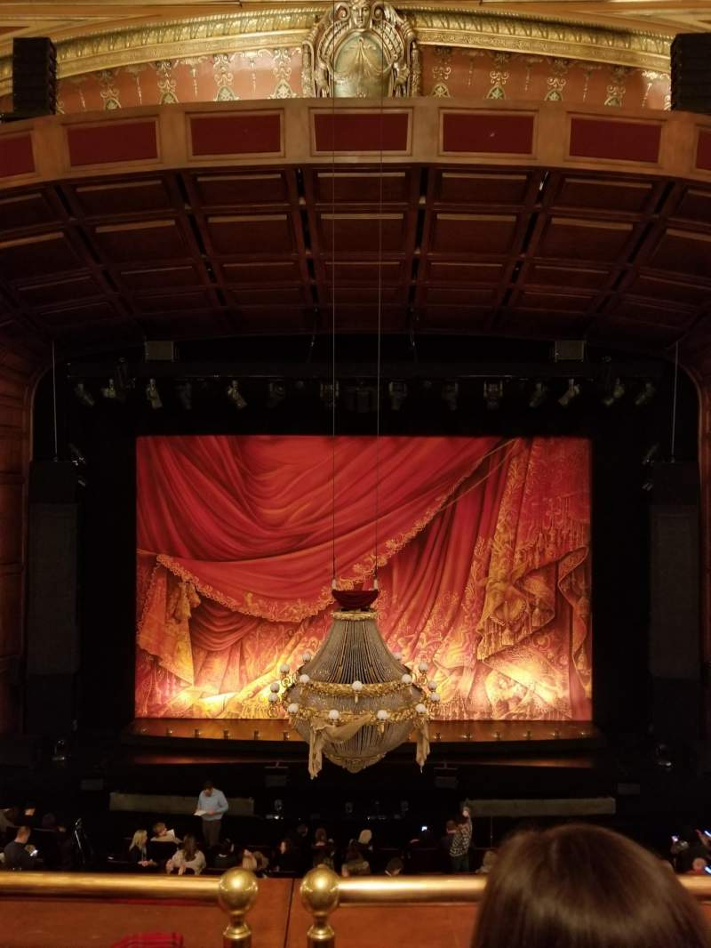 Seating view for Benedum Center Section Directors Circle C Row BB Seat 107