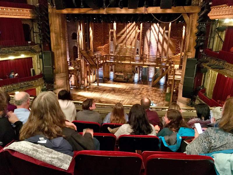 Seating view for CIBC Theatre Section MEZZRC Row E Seat 320
