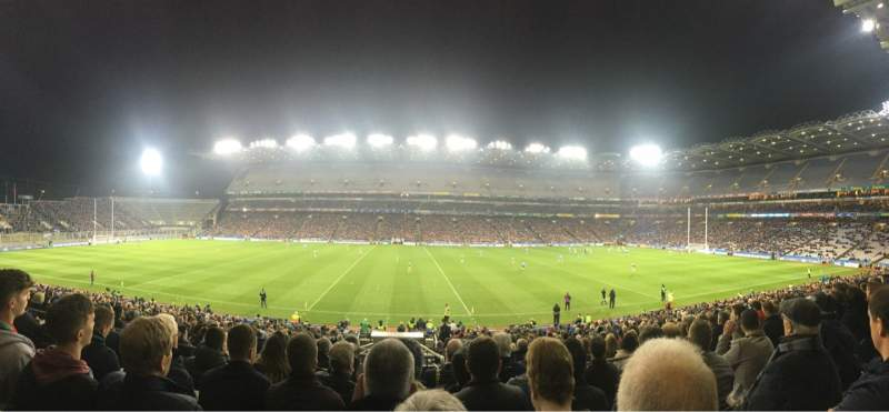 Seating view for Croke Park Section 431 Row KK Seat 19