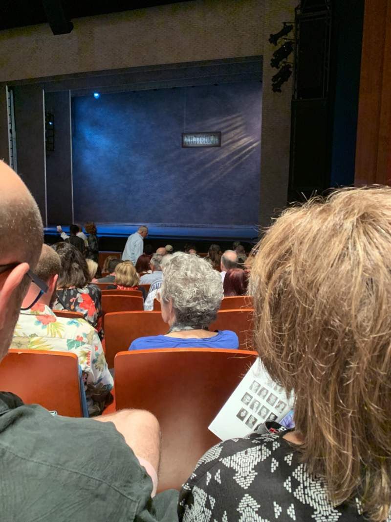 Seating view for Au-Rene Theatre at the Broward Center Section Orchestra R Row Q Seat 14