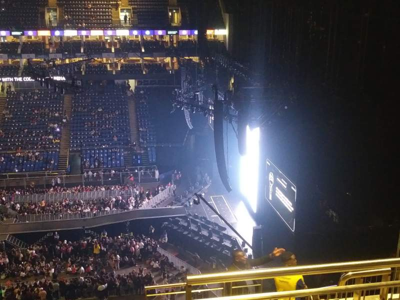 Seating view for The O2 Arena Section 421 Row K Seat 12