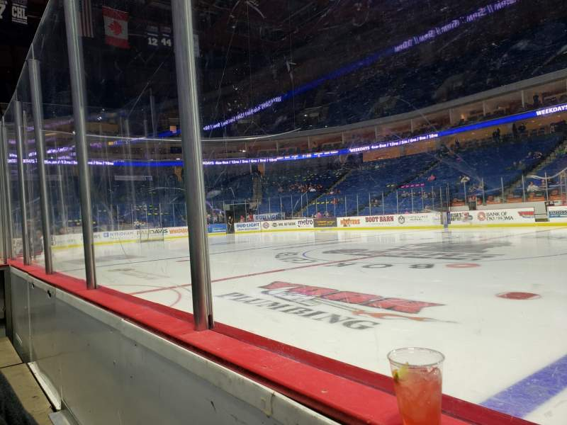 Seating view for BOK Center Section 111 Row A Seat 14