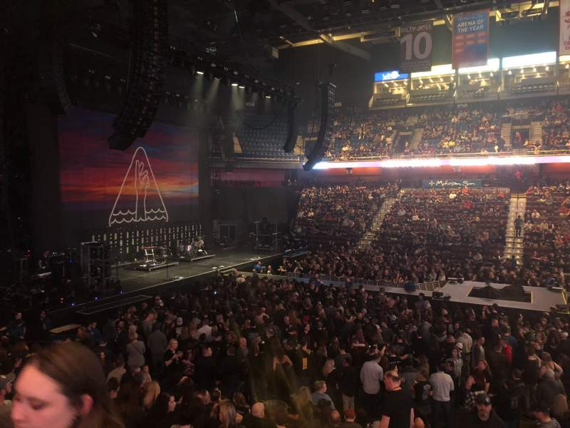 Seating view for Mohegan Sun Arena Section 24 Row Q Seat 20