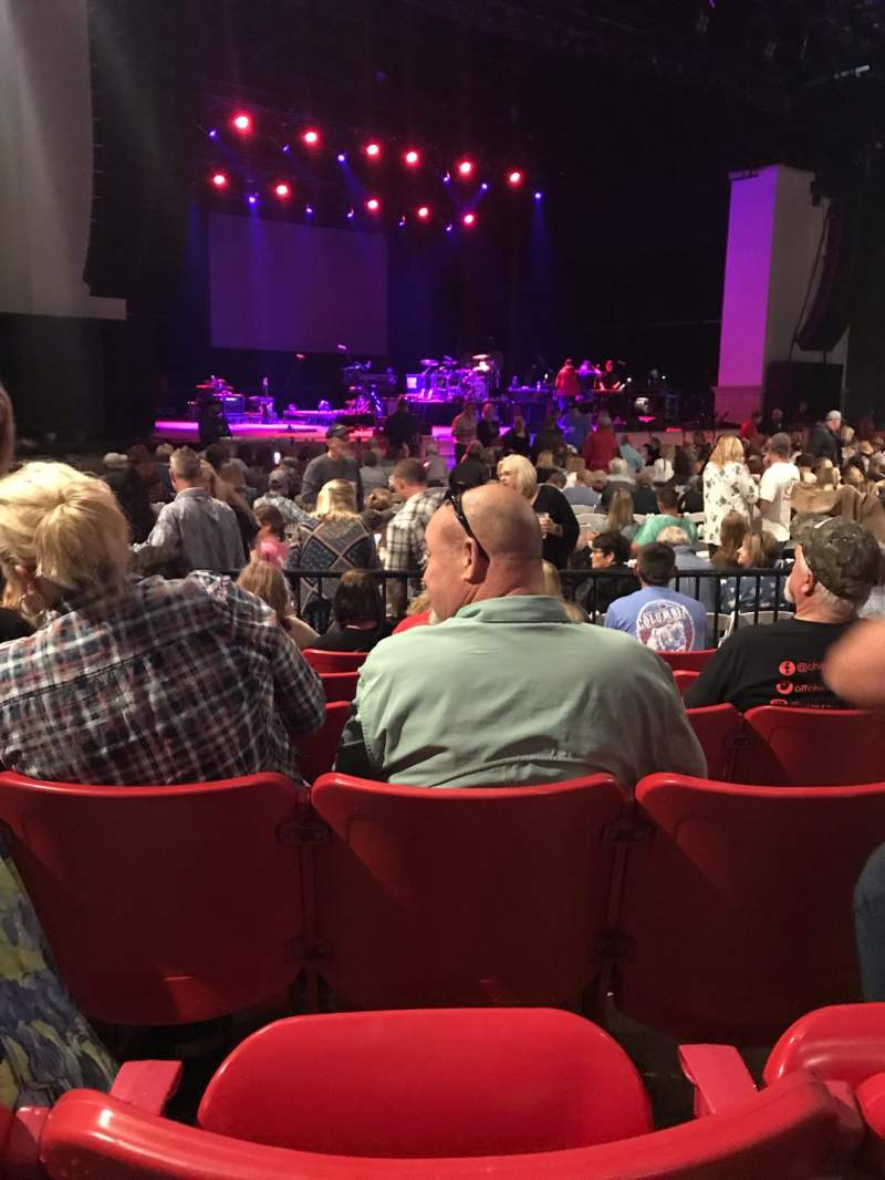Seating view for St. Augustine Amphitheatre Section 103 Row F Seat 29