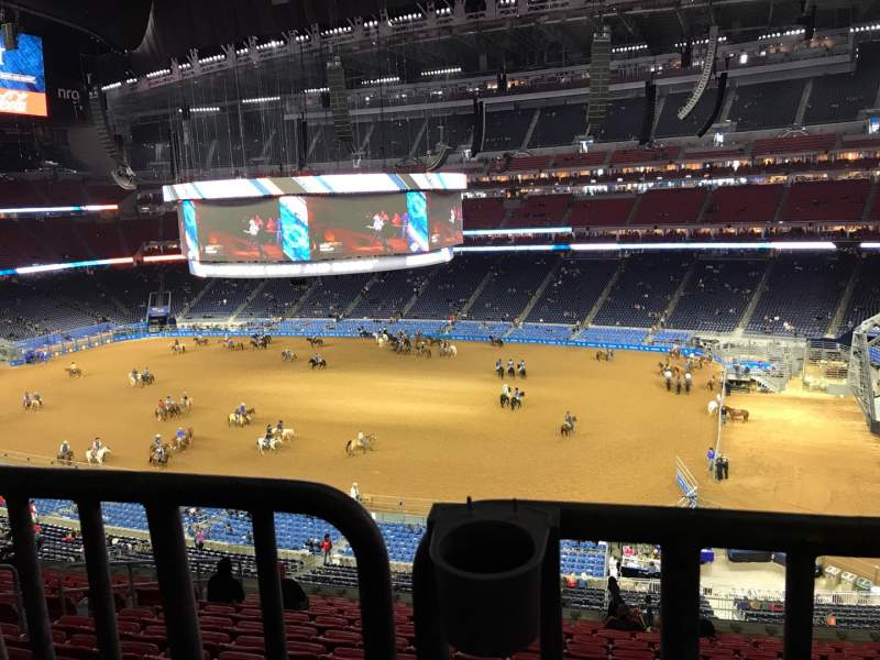 Seating view for NRG Stadium Section 306 Row V Seat 8