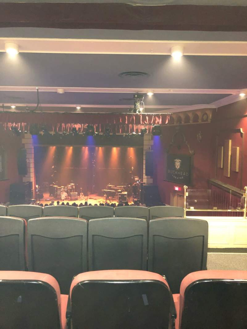 Seating view for Buckhead Theater Section Loge Row E Seat 2