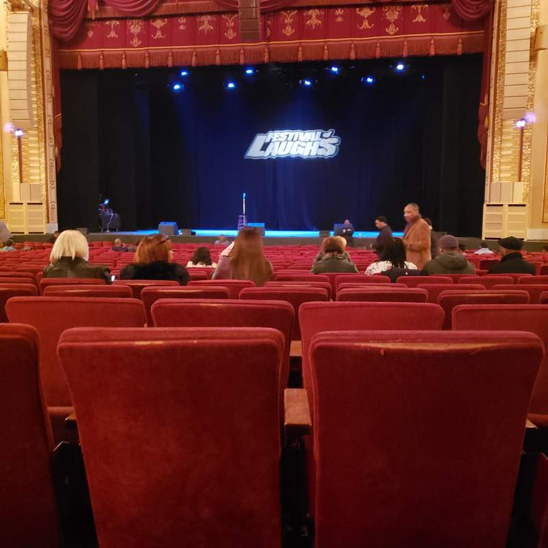 Seating view for Connor Palace  Section Orchestra Center Row AA Seat 321
