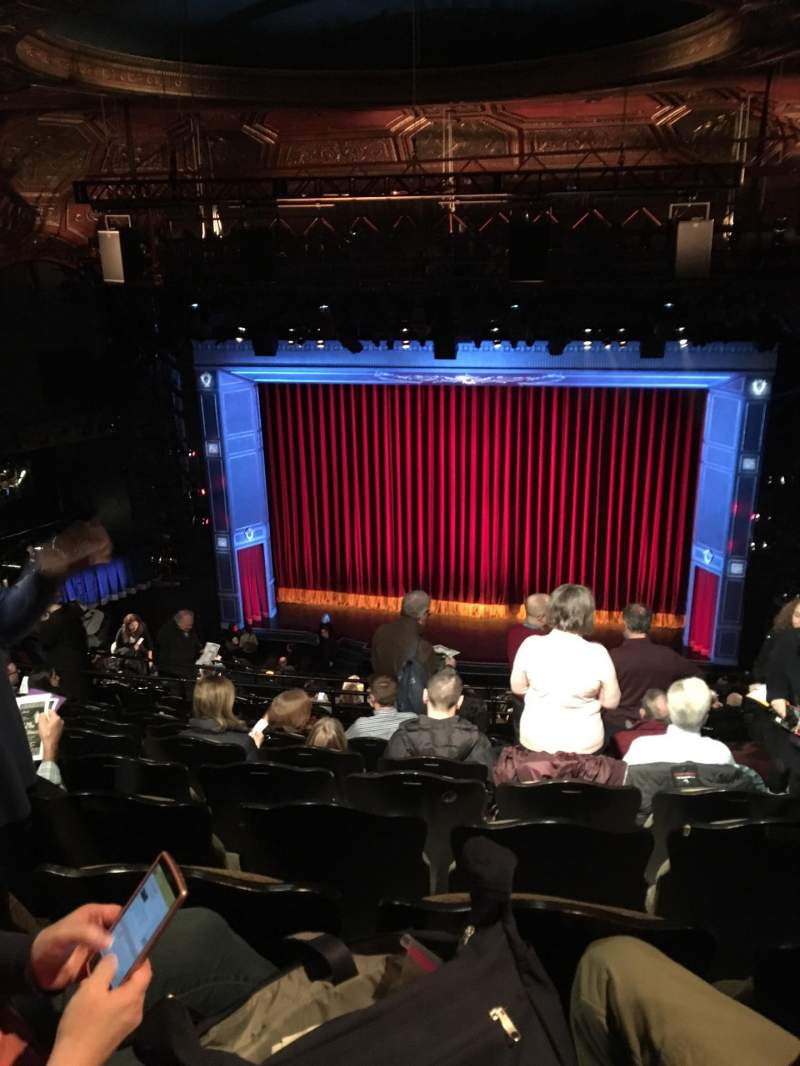 Seating view for Studio 54 Section Rear Mezzanine Row NN Seat 202