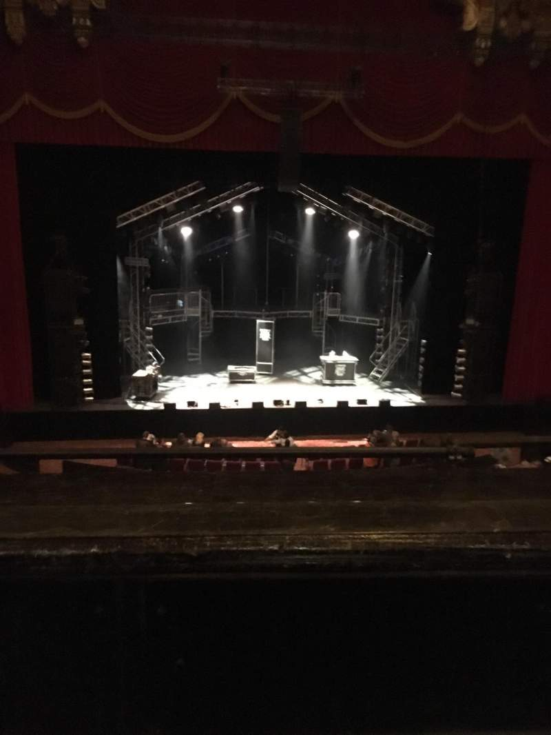 Seating view for The Fabulous Fox Theatre (St. Louis) Section Mezzanine 4 Row BB Seat 113