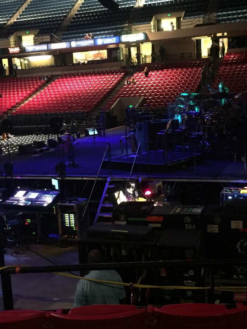 Seating view for BJCC Arena Section 28L Row J Seat 3