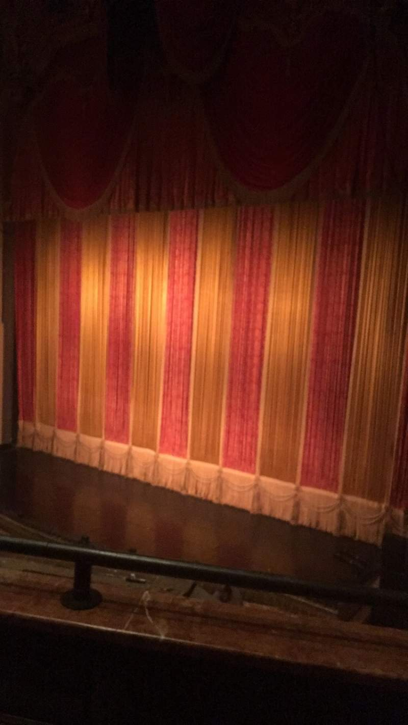 Seating view for Ohio Theatre (Columbus) Section Loge A Row B Seat 12