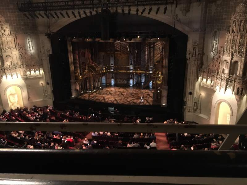 Seating view for Orpheum Theatre (San Francisco) Section Balcony Row A Seat 122