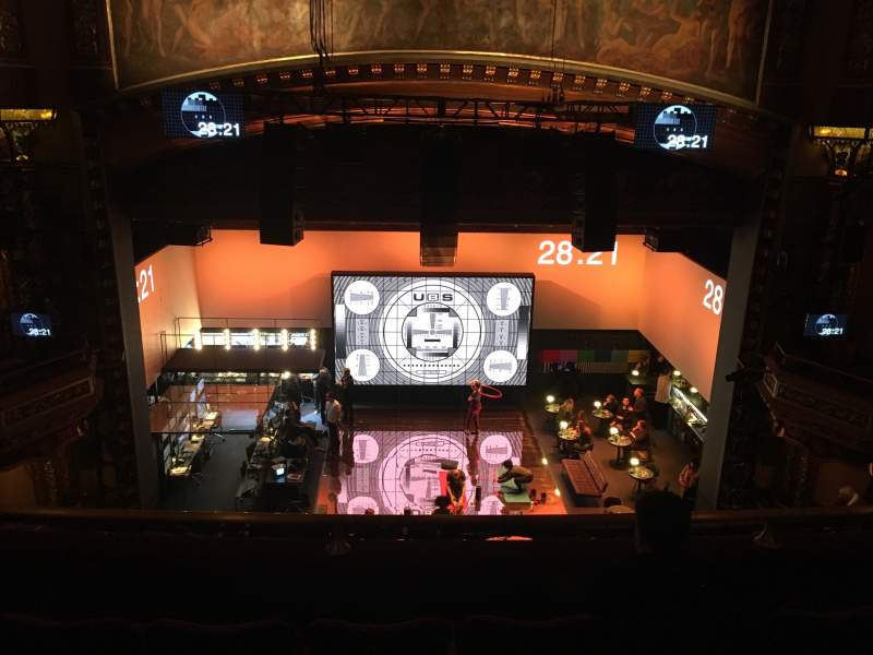Seating view for Belasco Theatre Section Balcony C Row D Seat 106