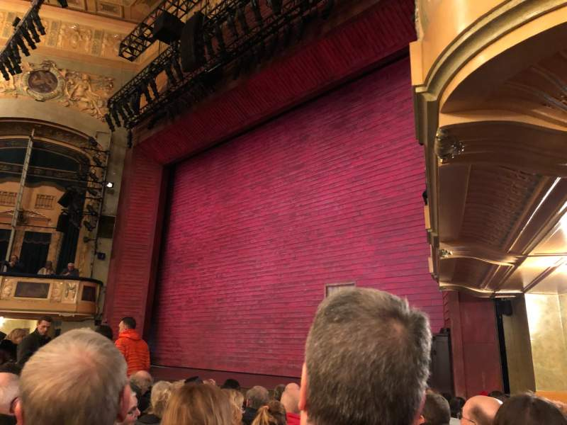 Seating view for Shubert Theatre Section Orchestra R Row K Seat 22