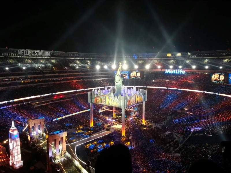 Seating view for MetLife Stadium Section 342 Row 16 Seat 8