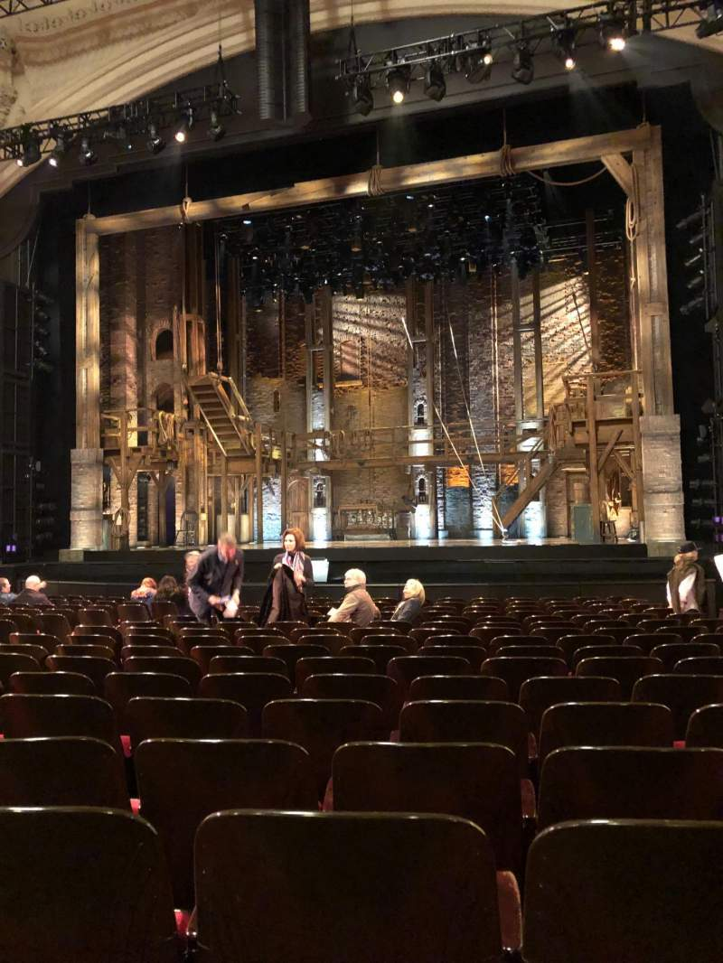 Seating view for Orpheum Theatre (San Francisco) Section Orchestra Center Row R Seat 120