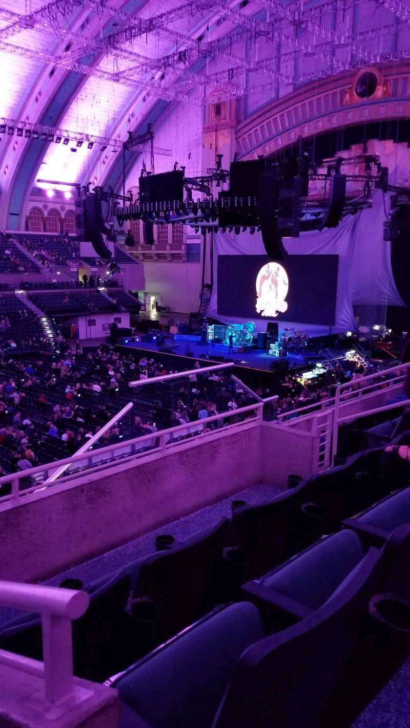Seating view for Boardwalk Hall Section 220 Row E Seat 10