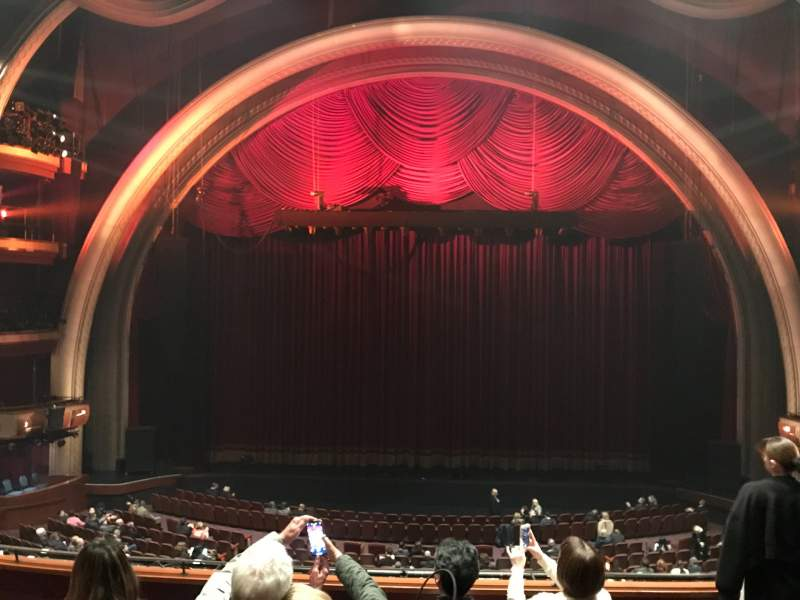 Seating view for Dolby Theatre Section Mezzanine 1C Row E Seat 13