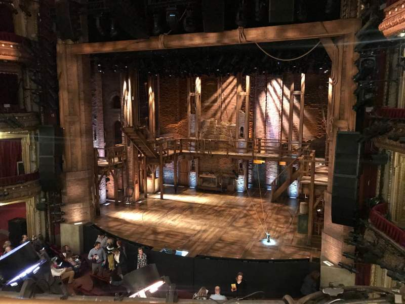 Seating view for CIBC Theatre Section Mezzanine RC Row A Seat 322