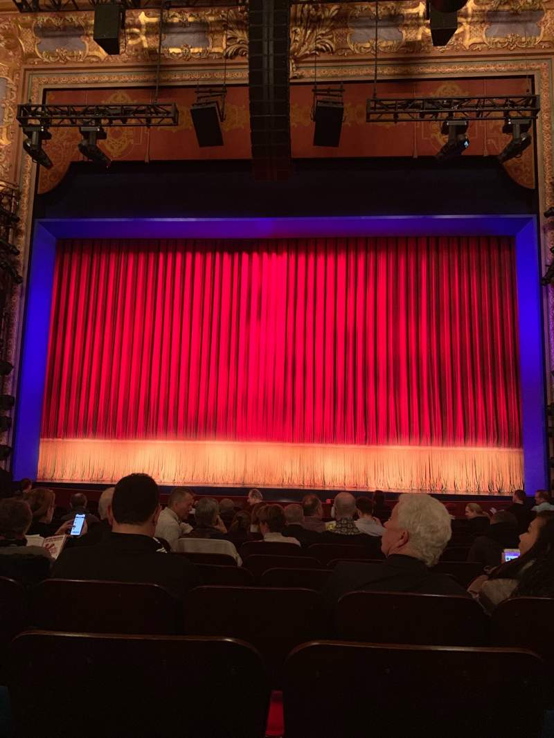 Seating view for Longacre Theatre Section ORCHC Row M Seat 106