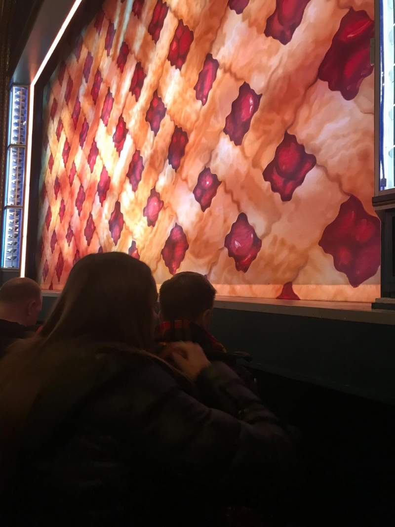 Seating view for Brooks Atkinson Theatre Section Orch right Row A Seat 12
