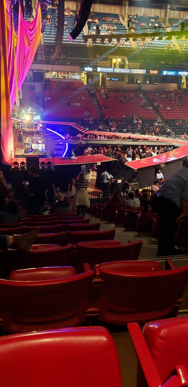 Seating view for BJCC Arena Section 6L Row U Seat 10