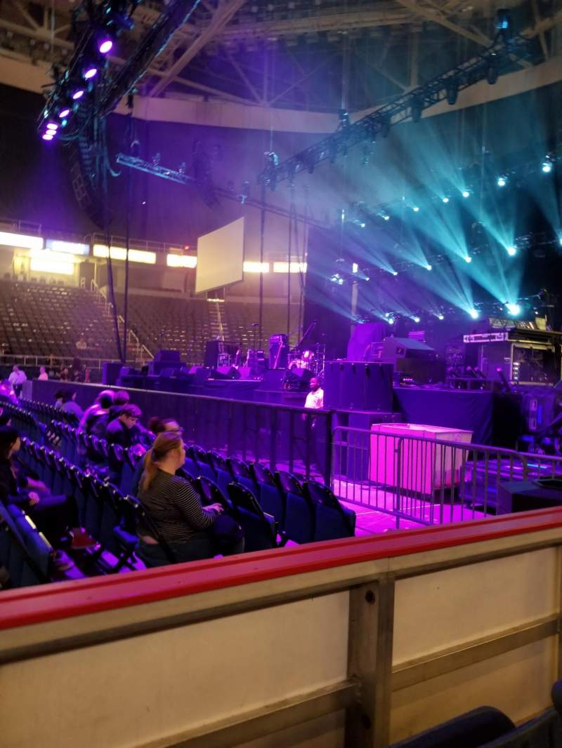 Seating view for Times Union Center Section 119 Row BB Seat 5